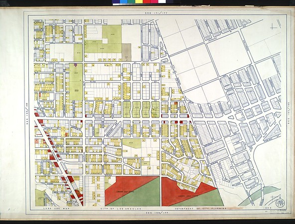 WPA Land use survey map for the City of Los Angeles, book 4 (Van Nuys District to Garvanza District), sheet 14