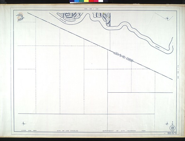 WPA Land use survey map for the City of Los Angeles, book 5 (Santa Monica Mountains from Girard to Van Nuys District), sheet 19