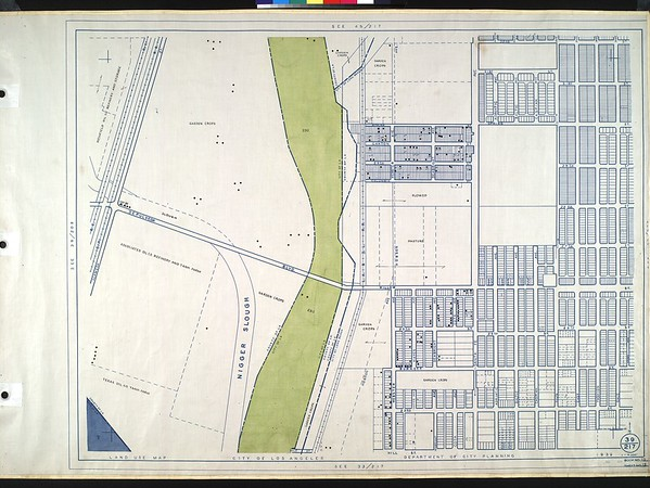 WPA Land use survey map for the City of Los Angeles, book 10 (Shoestring Addition to San Pedro District), sheet 11