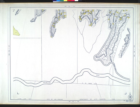 WPA Land use survey map for the City of Los Angeles, book 5 (Santa Monica Mountains from Girard to Van Nuys District), sheet 24