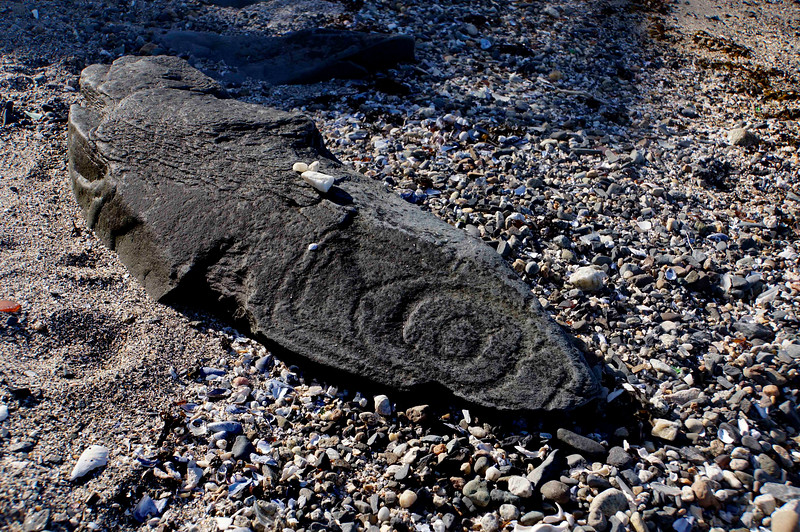 Native American Petroglyph carvings