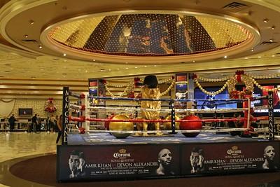 At the MGM Grand.