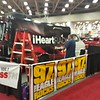 iHeartRADIO media truck wrap in progress at the DFW Auto Show 2016 Dallas, TX