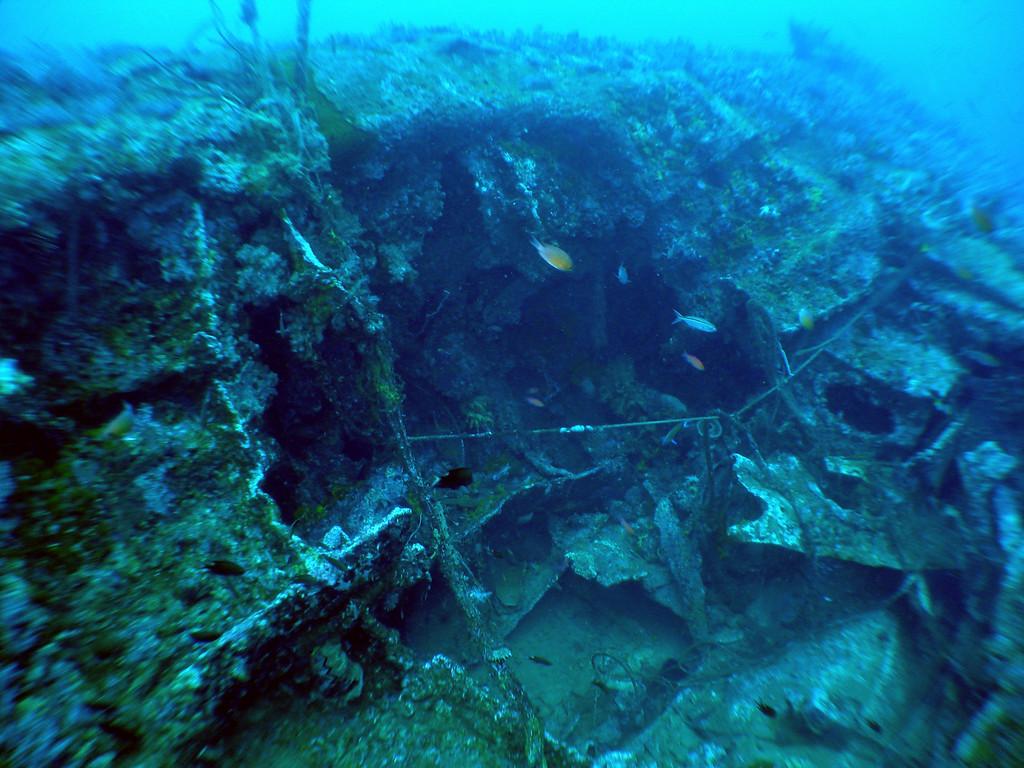 Torpedo hole