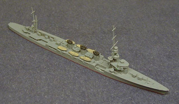 Model of IJN Kuma