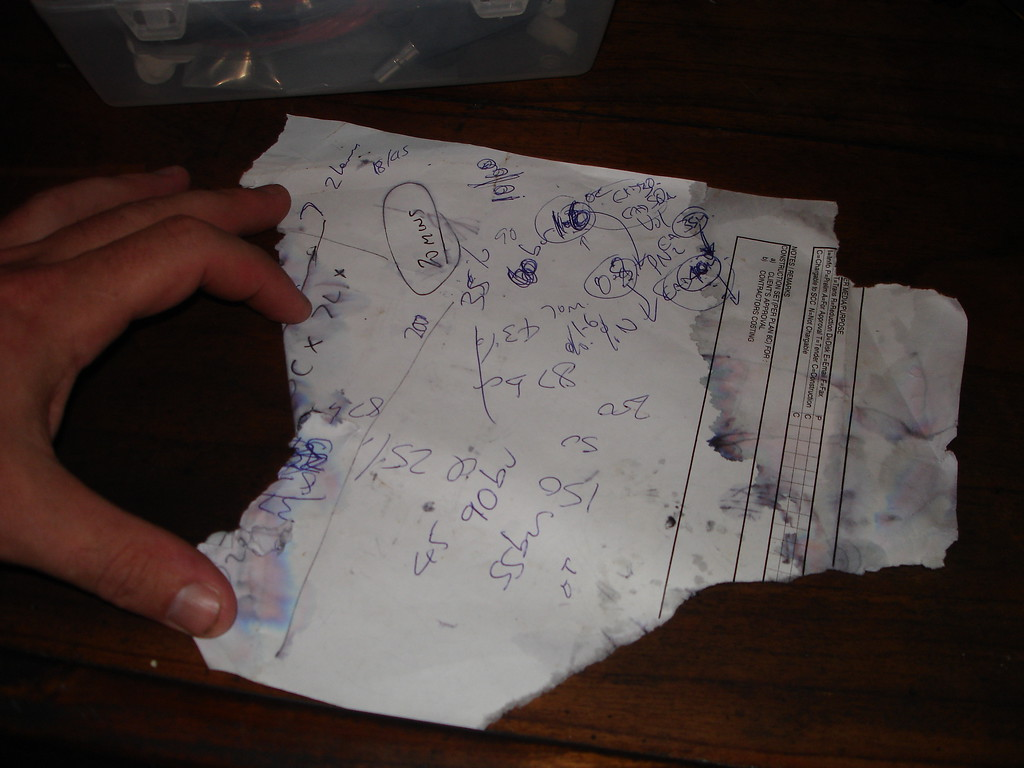 Dive planning the Drmike way :-)
