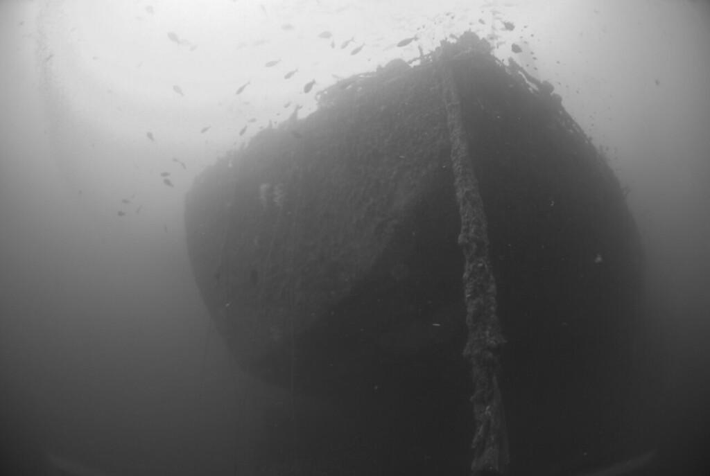 Stern of ship