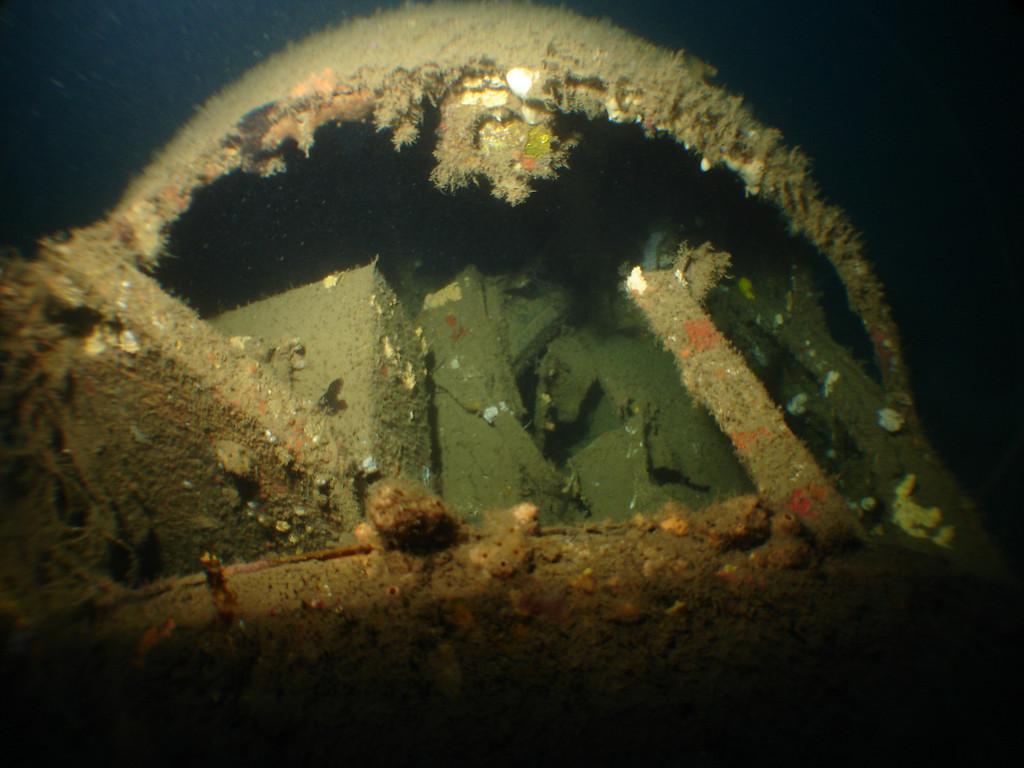 Cockpit of B26 Bomber in 70m