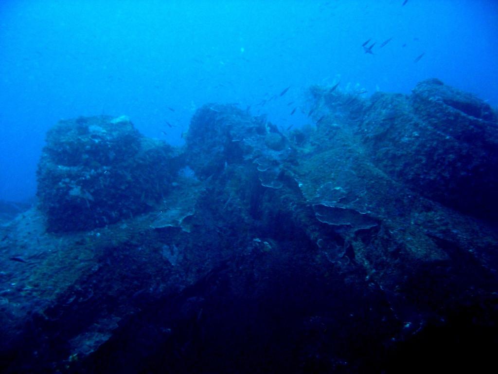 Battle tanks on deck of San fransico maru