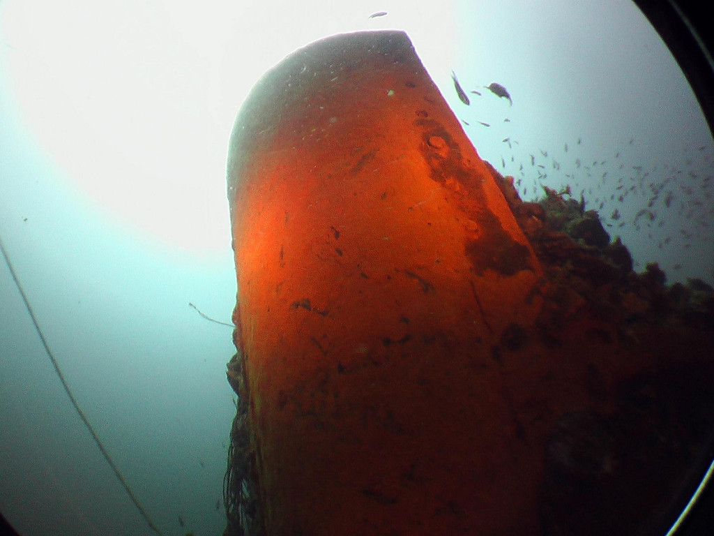 Bow of the tanker 'Samui'