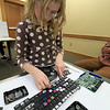 The Leominster Library University Jr. program held a Wreck the Tech program on Saturday, January 12, 2019. During this tech take apart party, kids where able to explore and take apart keyboards, desk phones, VCRs, one small Herbie VW bug & more! This is a great opportunity to figure out how things are put together and how they work. Natalie Guilmette, 8, takes aprt the keyboard from a laptop during the program. SENTINEL & ENTERPRISE/JOHN LOVE