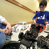 The Leominster Library University Jr. program held a Wreck the Tech program on Saturday, January 12, 2019. During this tech take apart party, kids where able to explore and take apart keyboards, desk phones, VCRs, one small Herbie VW bug & more! This is a great opportunity to figure out how things are put together and how they work. Ilan Cohen, 9, takes apart a broken Jerbie VW Bug during the program. SENTINEL & ENTERPRISE/JOHN LOVE