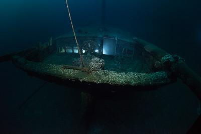 Kyle Spangler 130 foot Schooner built in 1856 sank after colliding with the schooner Racine in november 7 1890