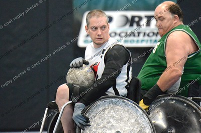 Wreckers vs Jammers quad rugby