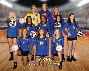 Wren Volleyball 2017