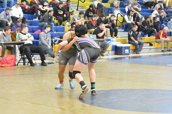 St Johns Takes Wrestling at Good Counsel