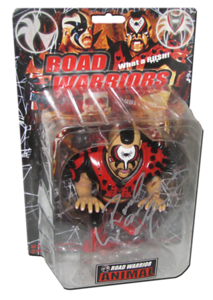 Road Warrior Animal Autographed King of Toy HAO Japanese Figure