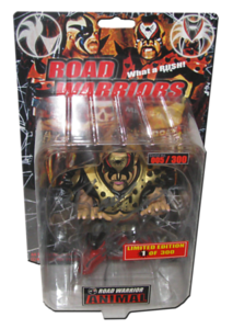Road Warrior Animal Autographed King of Toy 1/300 Convention HAO Japanese Figure