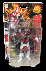 "Jushin ""Thunder"" Lyger Autographed NJPW AJPW CMLL NOAH Japanese Wrestling Figure"
