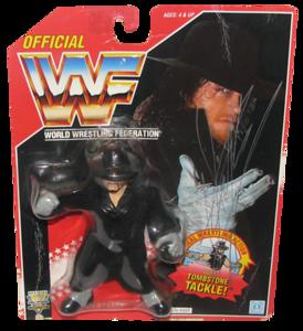 Undertaker Autographed WWF Hasbro (Red Card) Series 8 Figure