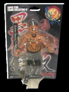 Keiji Mutoh Autographed NJPW AJPW CMLL NOAH Japanese Wrestling Figure