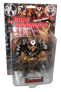 Road Warrior Animal Autographed King of Toy 1/150 Convention HAO Japanese Figure