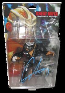 The Great Muta Autographed HAO Japanese Figure (Black Gear Version)