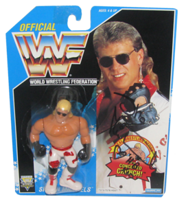 Shawn Michaels Autographed WWF Hasbro (Dark Blue Card White Pants) Series 10 Figure