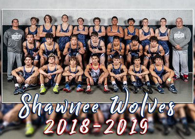 Shawnee Wolves Team 16x5x7