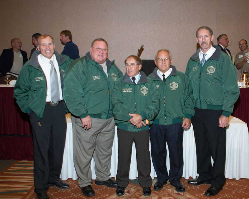 Honorees with jackets