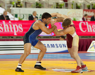 66 kg/145.5 lbs. - Chris Bono (Gilbert, Iowa/Sunkist Kids), dnp lost to Evan MacDonald (Canada), 1-1, 1-1