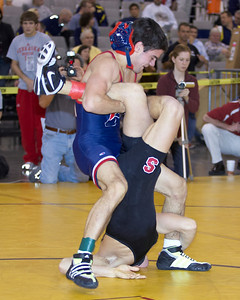 125 lbs.Tanner Gardner (STANFORD) def Tony Pescaglia (MISSOURI) by decision 9-7