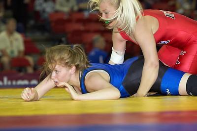 63 kg Shamaine Danner def Deanna Rix_U0V0487