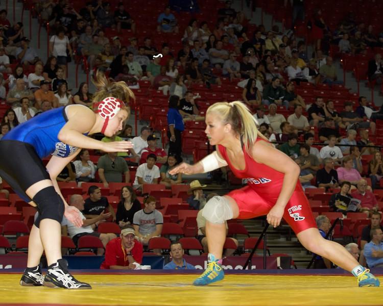 63 kg Shamaine Danner def Deanna Rix_U0V0484