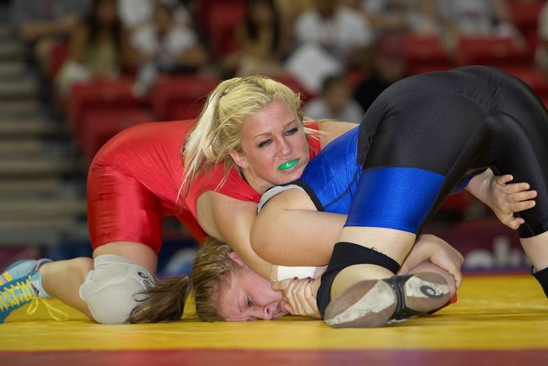 63 kg Shamaine Danner def Deanna Rix_U0V0486