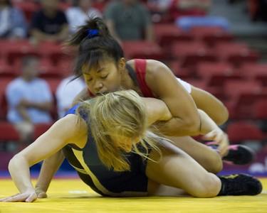 48 kg Clarissa Chun def Alyssa Lampe_U0V0529