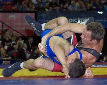 Greco-Roman Championships 60 Kg: 1st Place - Joe Betterman of New York AC  2nd Place - Glenn Garrison of US Army