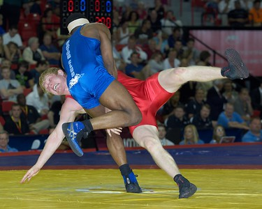 Greco-Roman Championships 74 Kg: 1st Place - T.C. Dantzler of Gator WC  2nd Place - Cheney Haight of New York AC