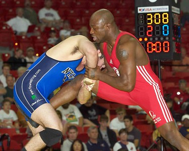 Greco-Roman Championships 84 Kg:1st Place - Andy Hrovat (NYAC)   2nd Place -  Mo Lawal (Sunkist Kids)