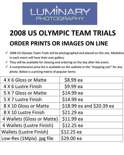 TRIALS Photo Information