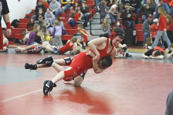 Biddy League Wrestling vs Crooksville