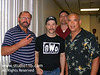 Arn Anderson, Ricky Steamboat & Mike Rotunda - July 19, 2008 : Presented by K&S Wrestlefest