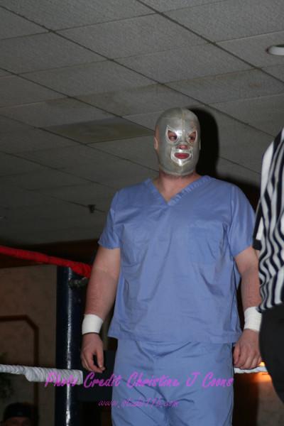 Masked Brain Surgeon vs Brutus Beefcake