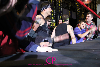 Da Hoodz vs Tabarnak de Team at CZW To Infinity
