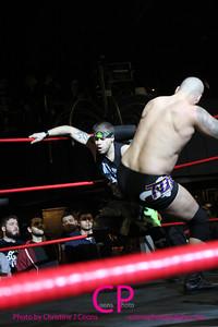 Da Hoodz vs Tabarnak de Team at CZW To Infinity