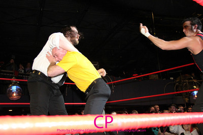 Team Tremendous (Dan Barry & Bill Carr) vs The Front (Sozio & Stockade) at CZW To Infinity in Providence, RI