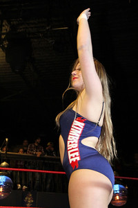 WSU Showcase Match - Kimber Lee pinned Alexxis
