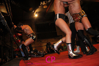 The Bravado Brothers vs Chuck Taylor & Drew Gulak at DGUSA Way of the Ronin 2014