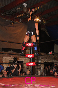 Roderick Strong vs Johnny Gargano at DGUSA Way of the Ronin 2014