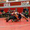 The Argyle Eagles varsity wresting team competes at Argyle High School on January 23, 2020.  (Abbey Hajok/ The Talon News)